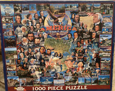 A 1000 PIECE JIGSAW PUZZLE BY WHITE MOUNTAIN - AMERICA