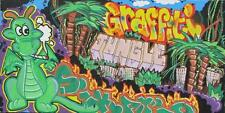 CHIEF (Milan 1985) GRAFFITI JUNGLE Street Art Urban writer OIL on CANVAS cm30x60
