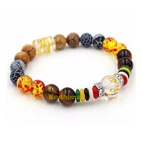 Buddhist Mantra Prayer 8mm Natural Beads Bracelet