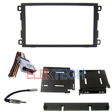 Radio Replacement Dash Kit 2-DIN w/Harness/Antenna for Chevrolet GMC Toyota