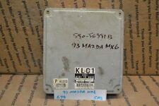 1993 Mazda Mx-6 Engine Control Unit ECU KL0118881C Module 679-5A3