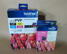 [1090*] BROTHER LC73PVP (PLUS FREE LC73M) Inks + 40 Photo Paper ( RRP>$160 )