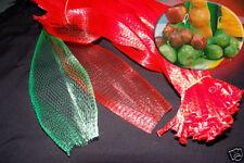 1000 PP Mesh Green 20 inch Net Bag for Produce, Toys, Vegetable Fruit Farm Use