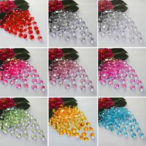 1000-5000pcs Wedding Decor Scatter Table Crystals Diamonds Acrylic Confetti