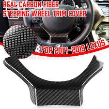 Carbon Fiber Steering Wheel Trim Cover fits for Lexus RC GS-F IS NX200T 300h