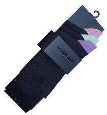 Vente de liquidation!!! duchamp homme pack de 3 mshdc 404STM tipped chaussettes noir uk 7-11
