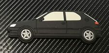 Peugeot 306 Gti 6 / S16 fridge magnets , Black