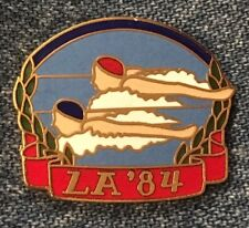 Synchronized Swimming Olympic Pin~LA '84~1984 Los Angeles~vintage cloisonne