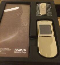 Nokia 8800d Sirocco Gold +BH-801 OVP (ohne Simlock) ORIGINAL in Folie!  w.Neu!!!