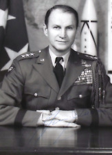 General James M. Gavin Signed Formal Photograph WW II 82nd Airborne Commander  .