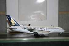 """JC Wings 1:400 Singapore Airlines Airbus A380-800 9V-SKT """"Star Alliance"""" XX4105"""