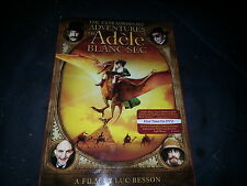 The Extraordinary Adventures of Adele Blanc-Sec (DVD, 2013)
