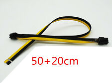 50+20cm Dual 6pin Power Cable 18AWG for DELL2950 Server Power Conversion Graphic