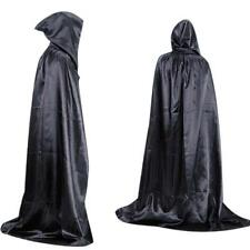 Hot Halloween Costume Devil Cloak Adult long Tippet Cape Death Hoody Masquerade