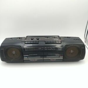 Panasonic RX-FT510 Portable Radio/Dual Cassette Player/Recorder