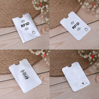 10pcs RFID credit ID card holder blocking protector case shield cover SP