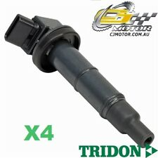 TRIDON IGNITION COIL x4 FOR Toyota Camry ACV36R 09/02-06/06, 4, 2.4L 2AZ-FE