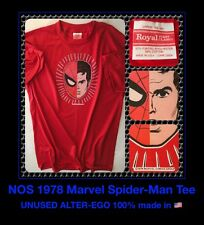 UNUSED 70s Vtg Amazing Spider-Man Marvel homecoming comic PAPER THIN NOS t-Shirt