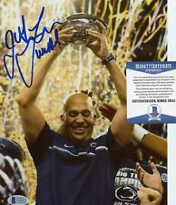 JAMES FRANKLIN PENN STATE NITTANY LIONS SIGNED 8x10 PHOTO BECKETT COA C69411