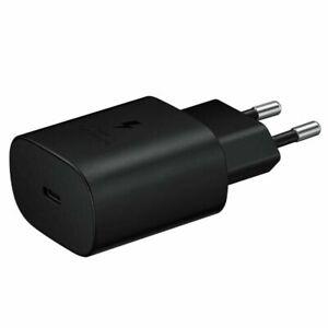 SAMSUNG Caricabatterie 25W Originale per S10 S20 FE S21 NOTE 10 Plus 20 Ultra 5G