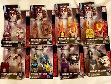 Transformers Titan Masters LOT of 8 Titans Return