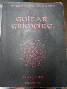 The Guitar Grimoire Scales & Modes By Adam Kadmon Vintage 1995 Music Book