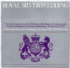 GB 1972 Royal Argent Mariage Souvenir Presentation Pack timbres très bon état envoi gratuit!