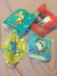 Pokemon mcdonalds toys - random - card and toy - X4