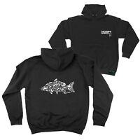 FB Fishing Hoodie - Fish Hooks - Novelty Birthday Christmas Gift Hoody Jumper