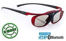 Aktive 3D Brille für 3DTV von Sony, Samsung, Panasonic, Toshiba, Telefunken, TCL