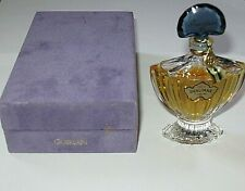 Vintage Guerlain Shalimar Perfume Bottle/Purple Box 1/2 OZ Sealed 3/4+ Full 1983
