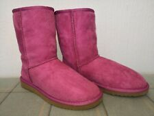 Rare Gorgeous Pink UGG Australia Classic Short Boot UK 5 Early Style VGC