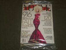 2012 SEPTEMBER VOGUE MAGAZINE - LADY GAGA - B 2571