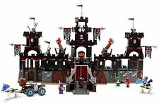 Lego 8877 Vladek's Dark Fortress Castle Château Knight Kingdom + Notice complet