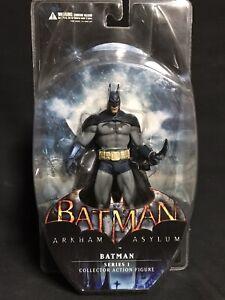 "DC DIRECT BATMAN ARKHAM ASYLUM SERIES 1 BATMAN 6.5"" COLLECTOR ACTION FIGURE"