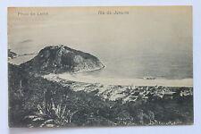Old postcard PRAIA DO LEME, RIO DE JANEIRO, BRAZIL