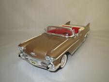 """Road Legends  Cadillac  Eldorado  Seville  """"1958""""  (braun-met.)  1:18 ohne Vp.!"""