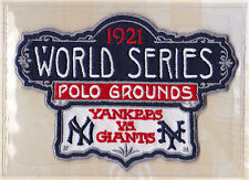1921 World Series Patch Card Willabee & Ward New York Giants vs New York Yankees