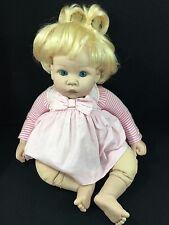 "Lee Middleton Baby Doll by Reva 1999 Madame Alexander 18"" Blonde Hair Blue Eyes"