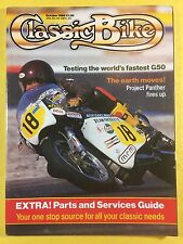 CLASSIC BIKE - October 1986 - 750cc Triumph Trident T160 - 500cc Matchless G50