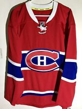 Reebok Authentic NHL Jersey Montreal Canadiens Team Red Alt sz 52