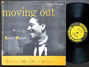SONNY ROLLINS Moving Out LP PRESTIGE LP 7058 NJ RVG MONO Art Blakey Kenny Dorham