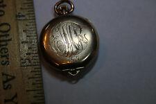 Vintage Elgin Gold Filled Pocketwatch 7 Jewel Grade 418 Movement 1917 JSH