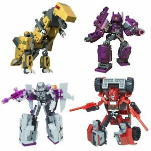 Transformers LEGO Kre-o Battle Changers Wave 1 set of 4