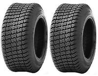 2 (TWO) 16X650-8 16X6.50-8 16X650X8 4PR  DS Lawn Mower Turf Tires Heavy Duty