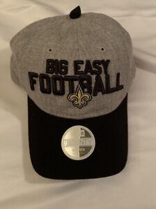 Women's New Orleans Saints New Era Spotlight 9TWENTY Adjustable Hat Cap NWT