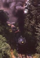 Southern? Railroad Steam Locomotive Train Original 1973 Photo Slide