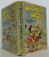 WALT DISNEY Mickey Mouse in King Arthur's Court FIRST EDITION