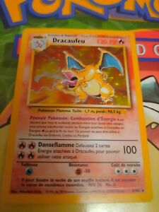 CHARIZARD 4/102 1ST EDITION FRENCH BASE SET WIZARD - POKEMON DRACAUFEU