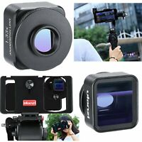 Ulanzi 1.33X Anamorphic Lens 17mm for IPhone Samsung Mobile Phone+Universal Clip